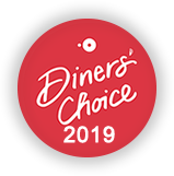 Diners Choice Award Winner 2019 Link to Open Table Reservations