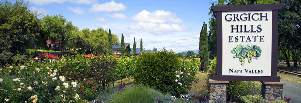 Just Released – Grgich Hills Estate Wine Dinner Tasting Menu
