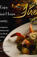 Announcing the new Firenze Trattoria Happy Hour - starting 1/1/2014