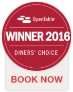 Open Table Diners Choice Award 2016