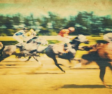Horse race image